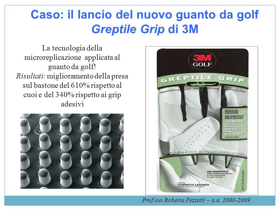 Caso: il lancio del nuovo guanto da golf Greptile Grip di 3M