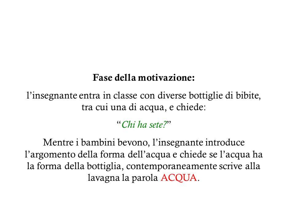 Fase della motivazione: