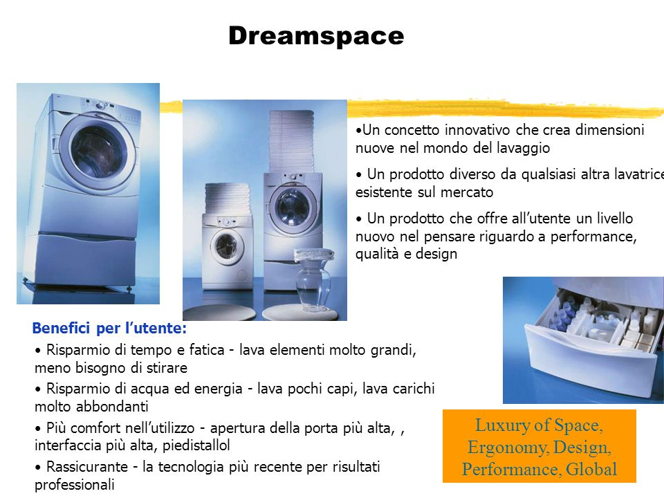 Luxury of Space, Ergonomy, Design, Performance, Global