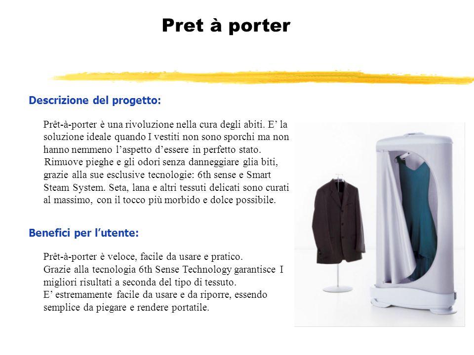 Pret à porter Descrizione del progetto: