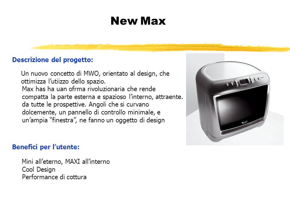 New Max Descrizione del progetto: