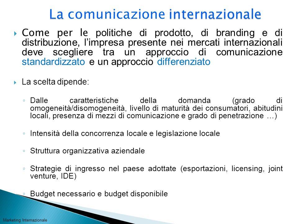 La comunicazione internazionale