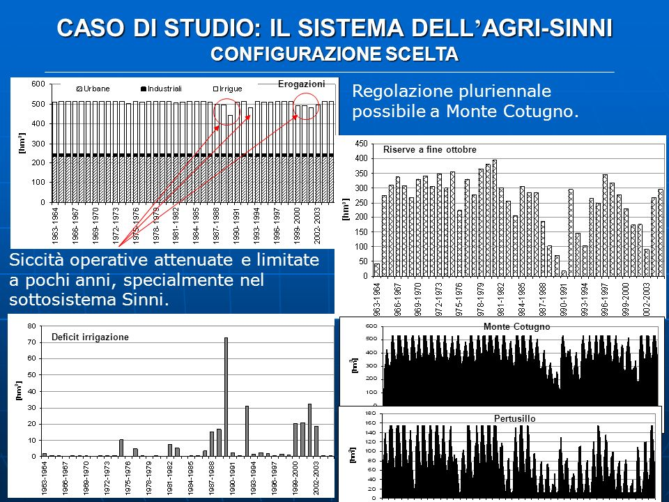 CASO DI STUDIO: IL SISTEMA DELL'AGRI-SINNI CONFIGURAZIONE SCELTA