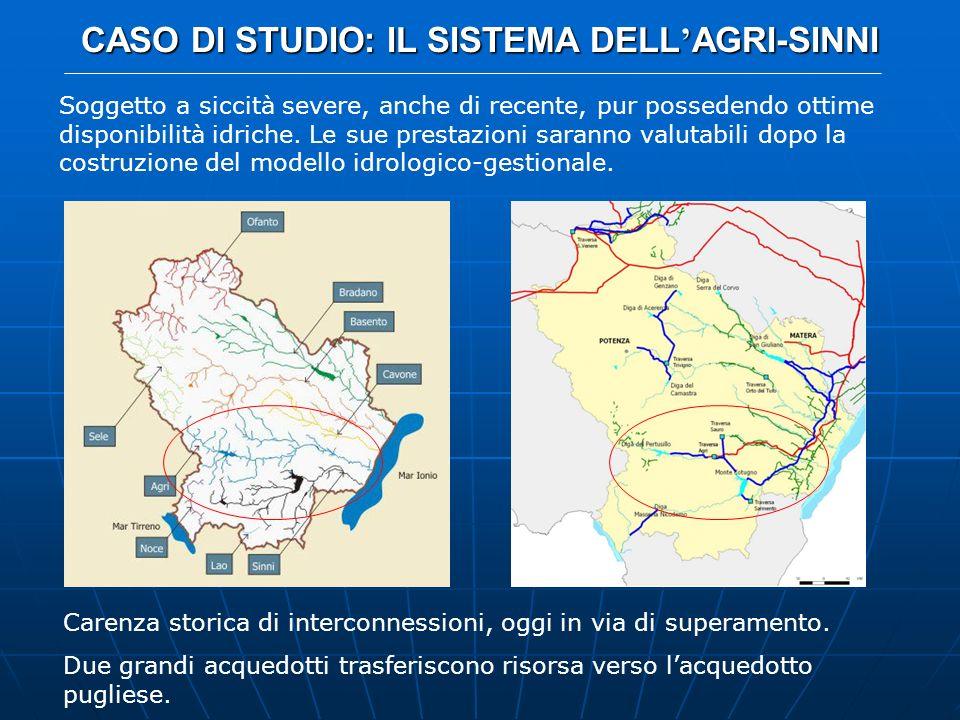 CASO DI STUDIO: IL SISTEMA DELL'AGRI-SINNI