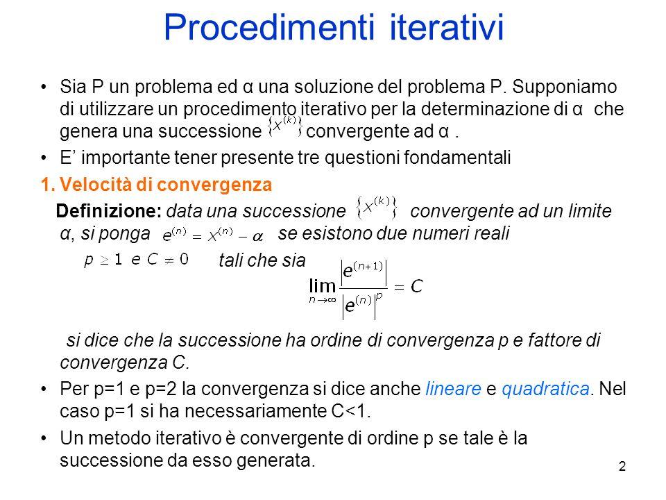 Procedimenti iterativi