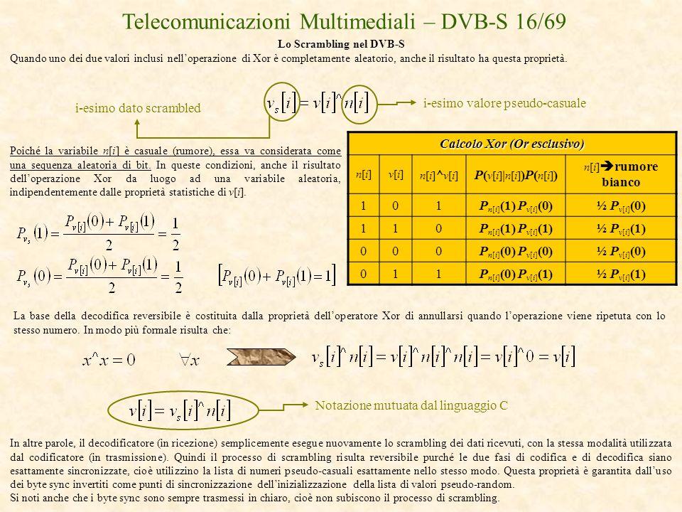 Calcolo Xor (Or esclusivo)