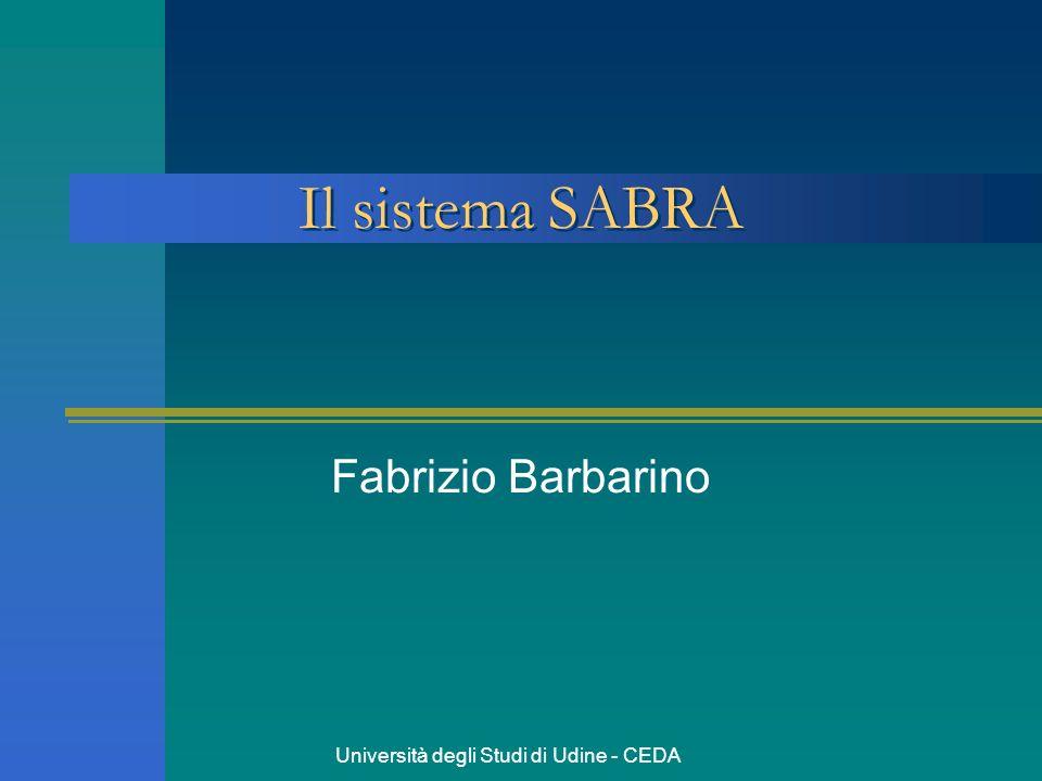 Università degli Studi di Udine - CEDA