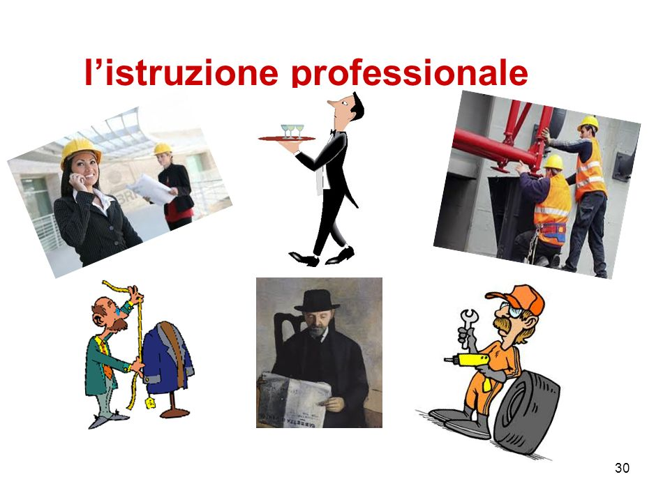 l'istruzione professionale