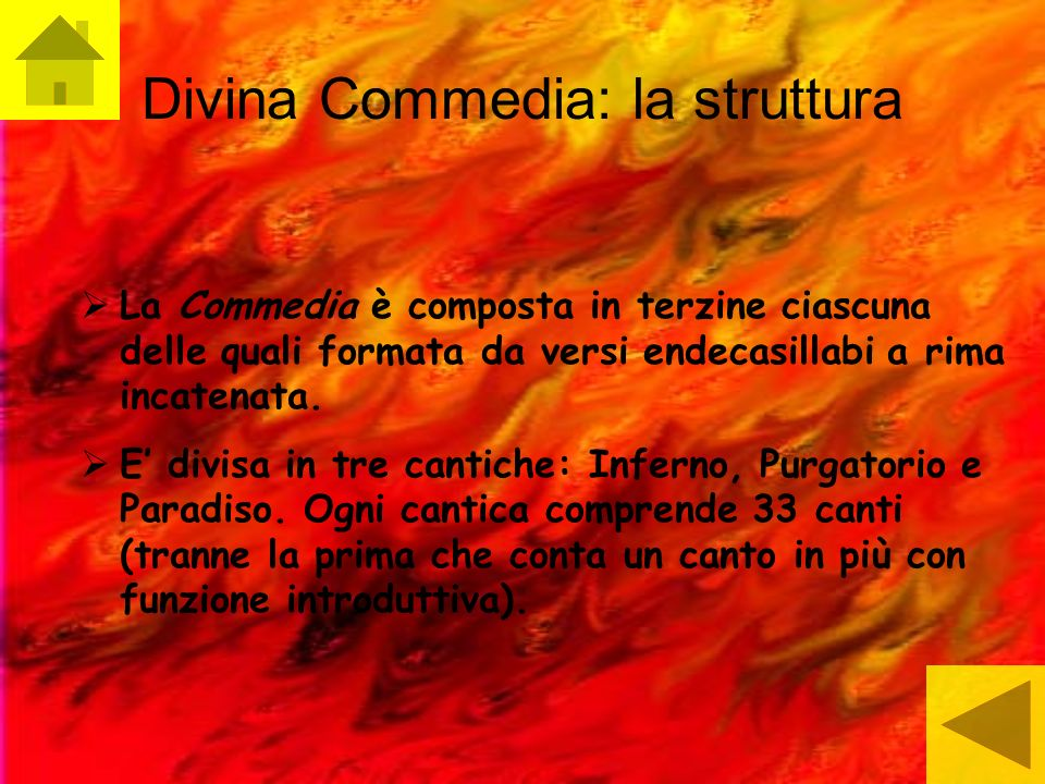 Divina Commedia: la struttura