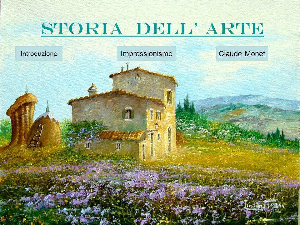 Storia dell arte introduzione impressionismo claude monet for Adorno storia dell arte