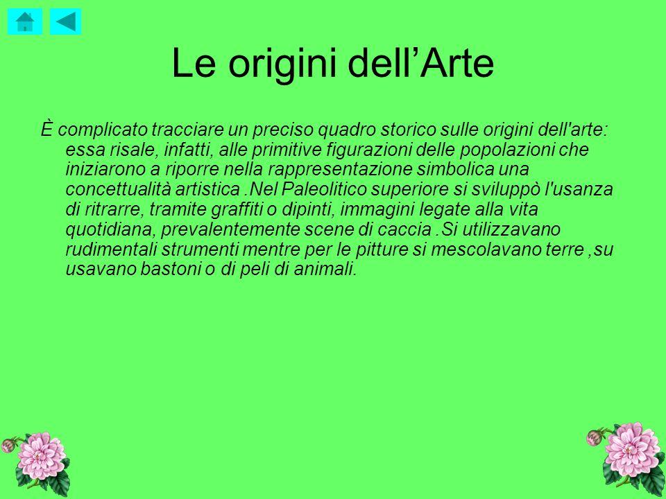 Le origini dell'Arte