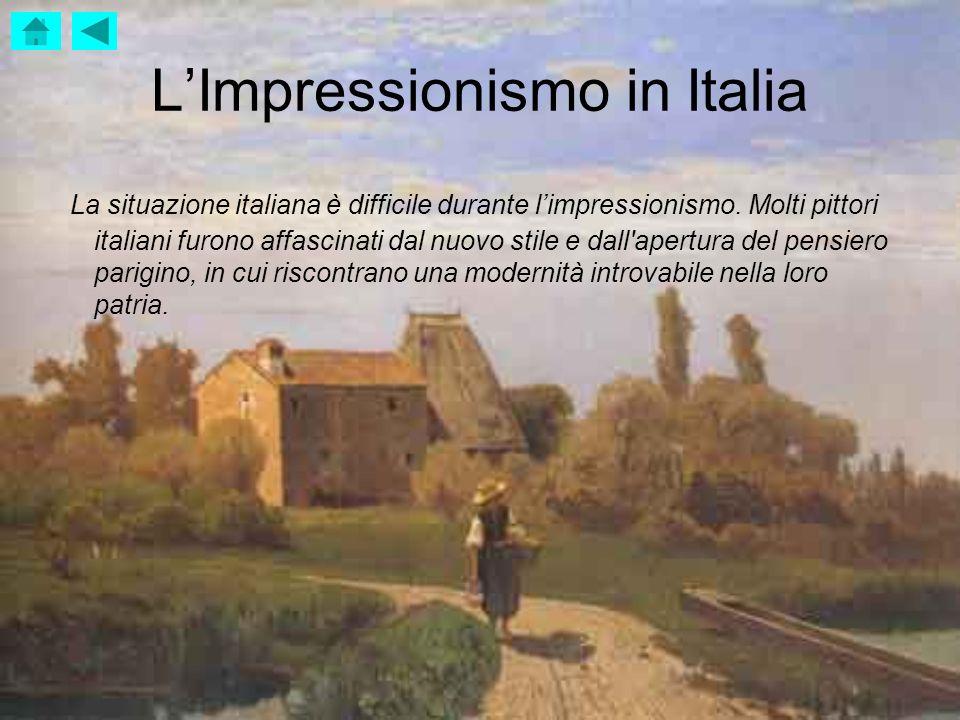 L'Impressionismo in Italia