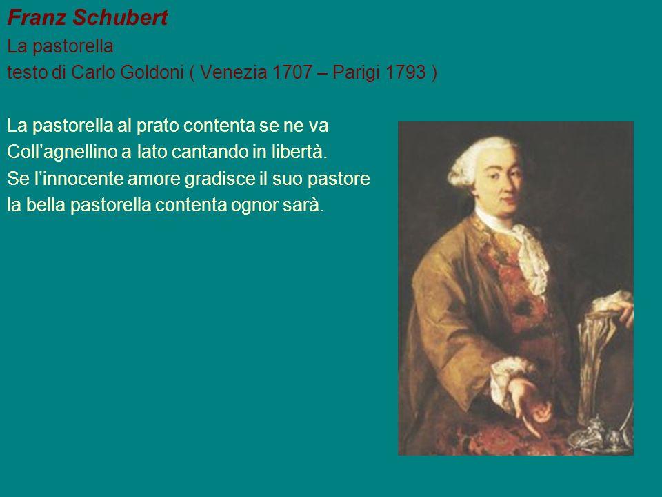 Franz Schubert La pastorella