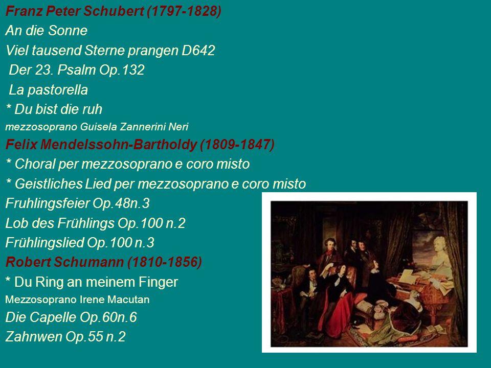 Franz Peter Schubert (1797-1828) An die Sonne