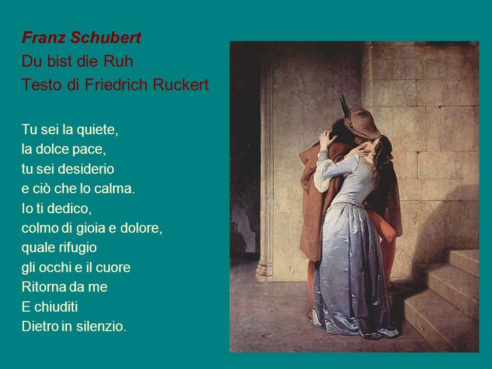 Testo di Friedrich Ruckert