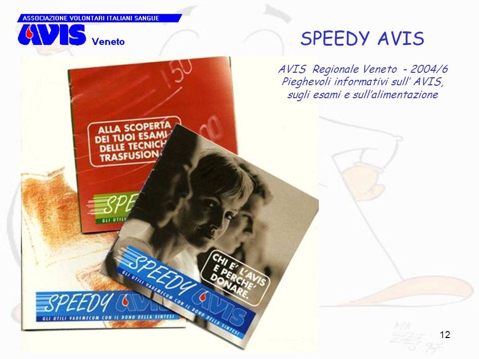 SPEEDY AVIS AVIS Regionale Veneto - 2004/6