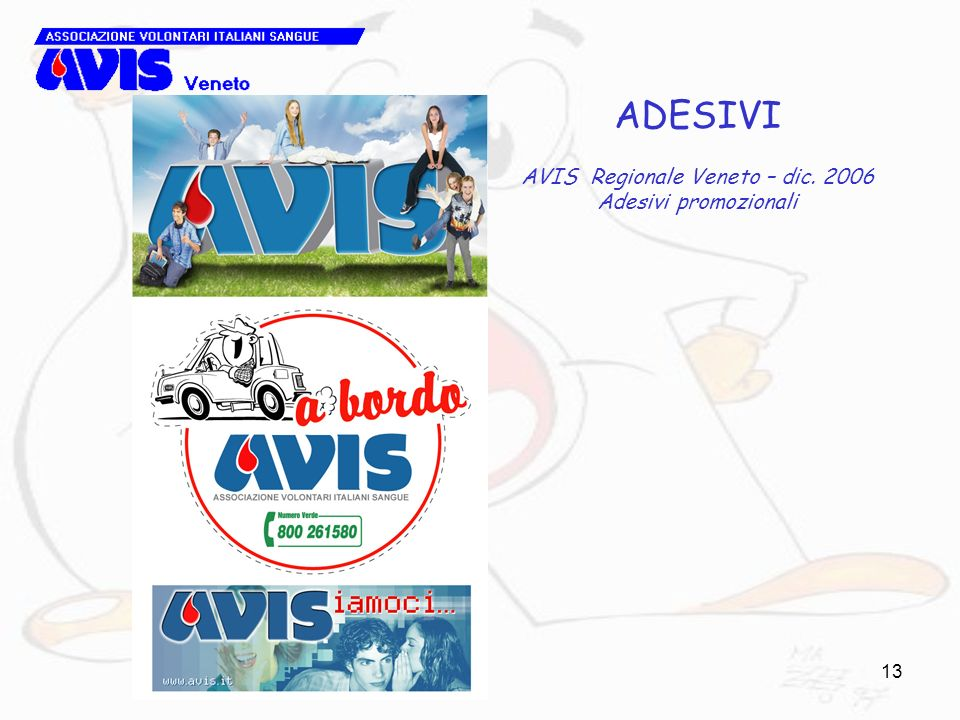 AVIS Regionale Veneto – dic. 2006