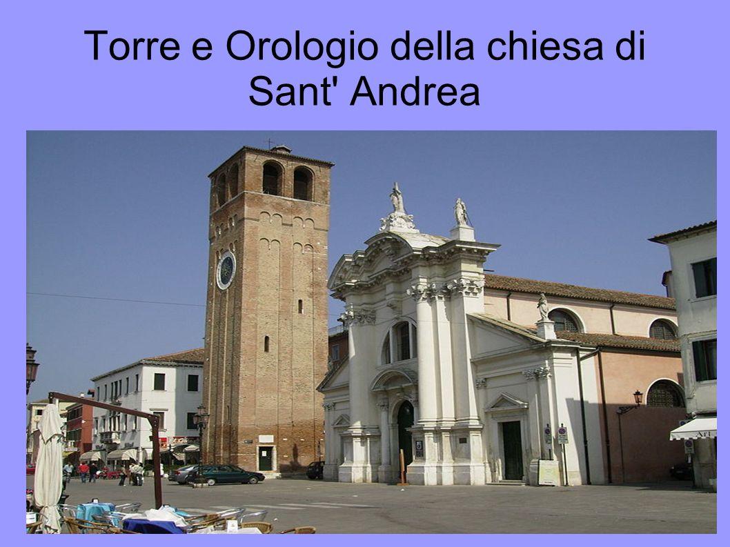 Torre e Orologio della chiesa di Sant Andrea