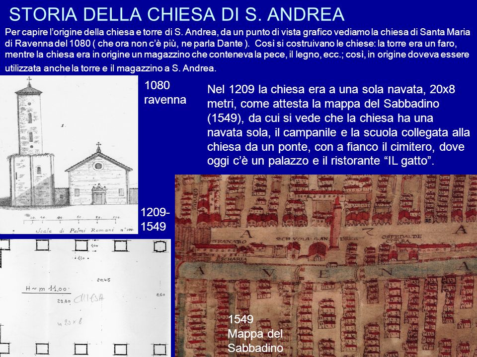STORIA DELLA CHIESA DI S. ANDREA