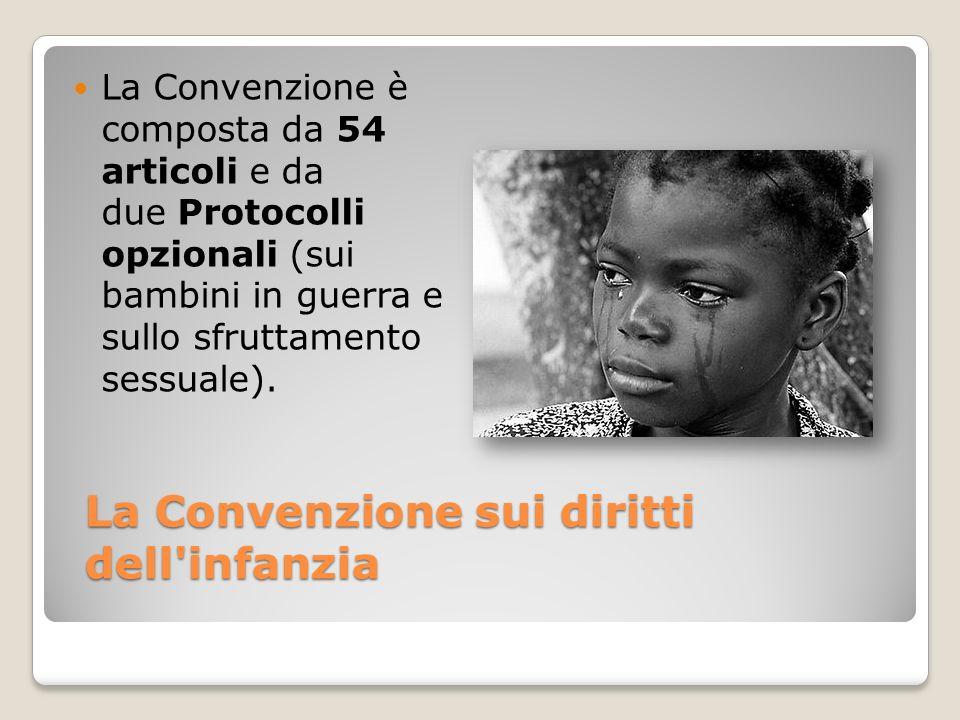 La Convenzione sui diritti dell infanzia