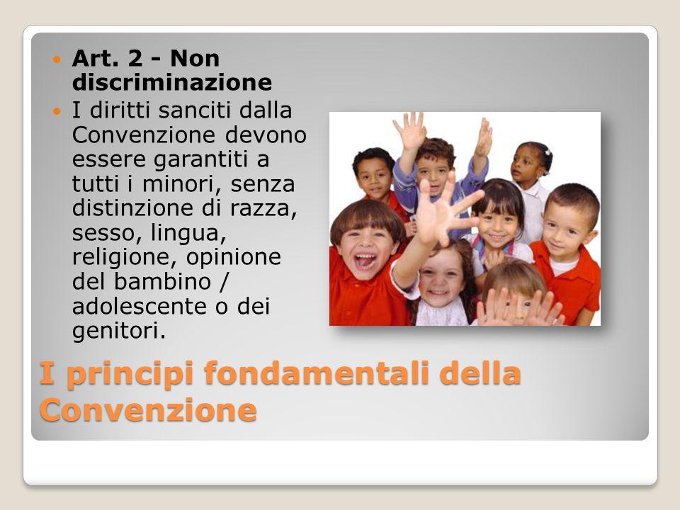 I principi fondamentali della Convenzione
