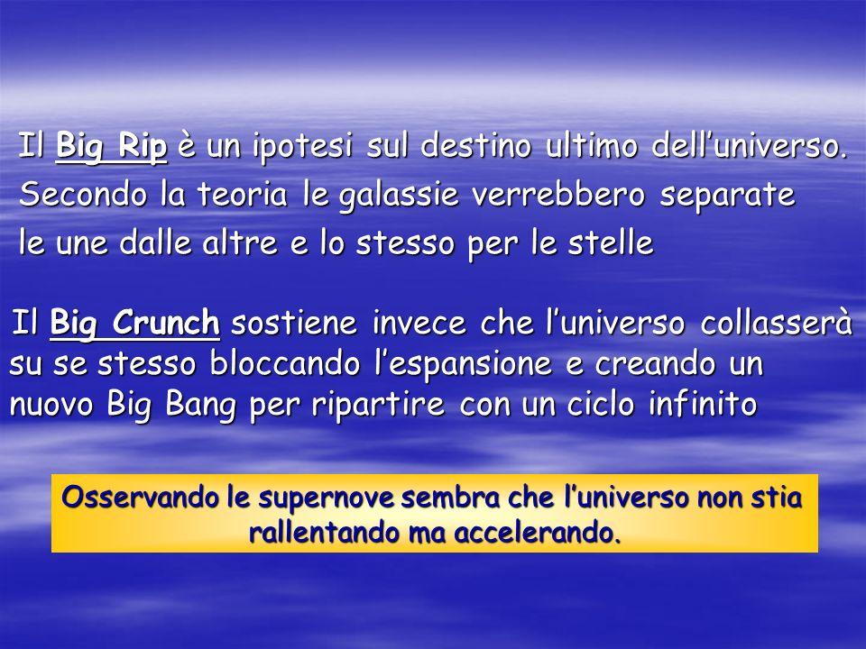 Il Big Rip è un ipotesi sul destino ultimo dell'universo.