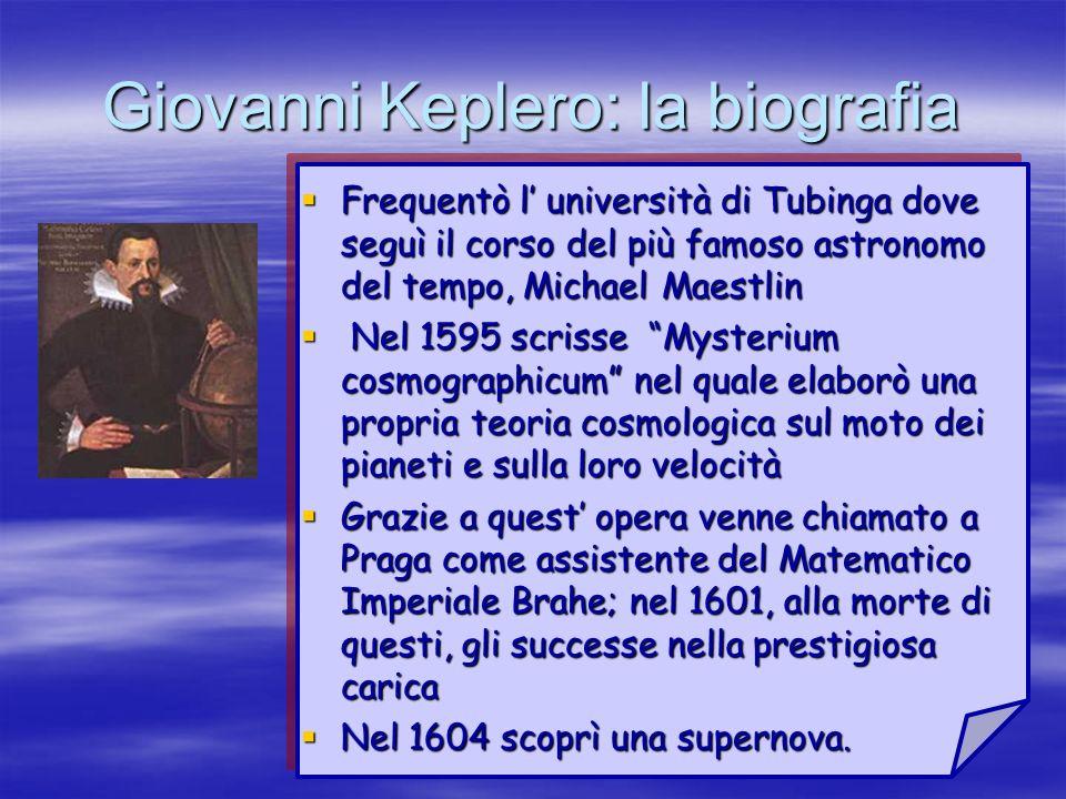 Giovanni Keplero: la biografia