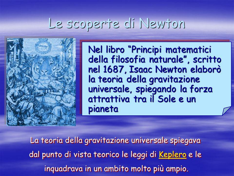 Le scoperte di Newton