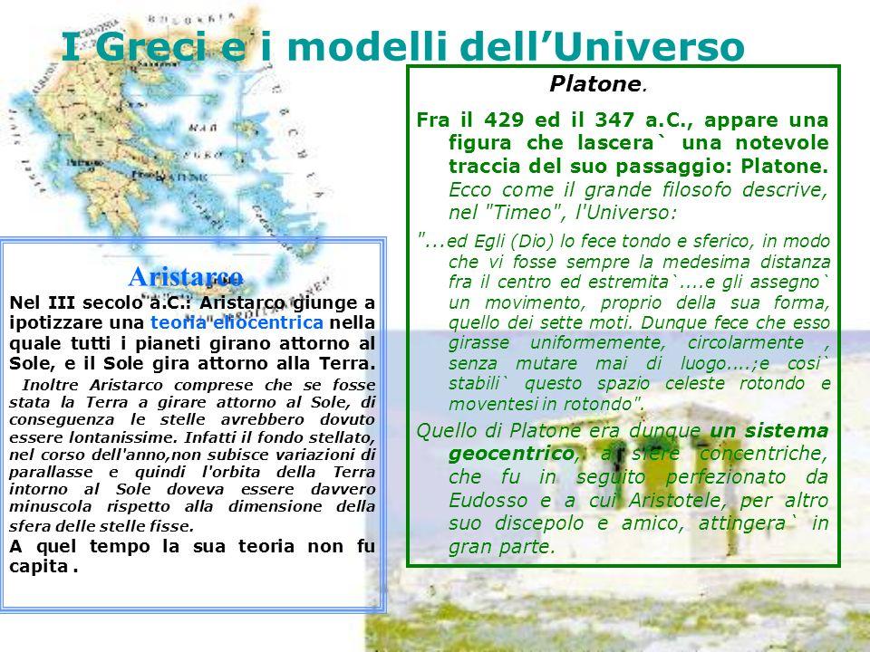 I Greci e i modelli dell'Universo