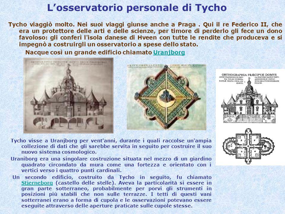 L'osservatorio personale di Tycho