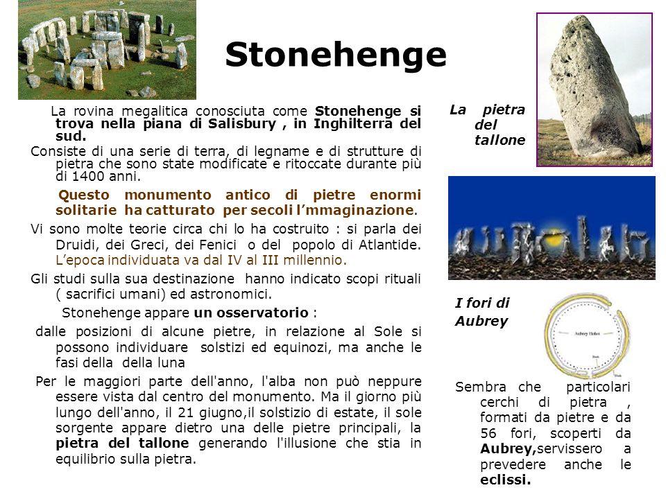 Stonehenge La pietra del tallone