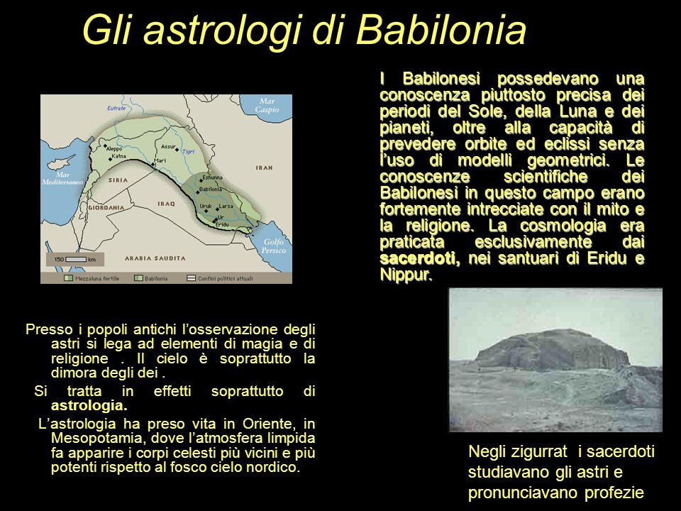 Gli astrologi di Babilonia