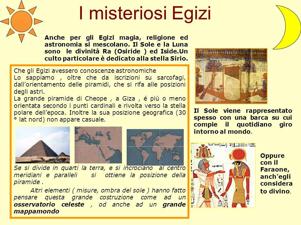 I misteriosi Egizi