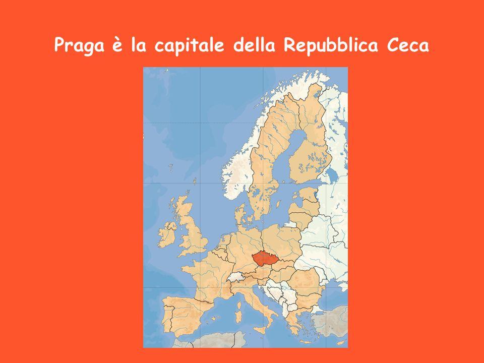 Praga è la capitale della Repubblica Ceca