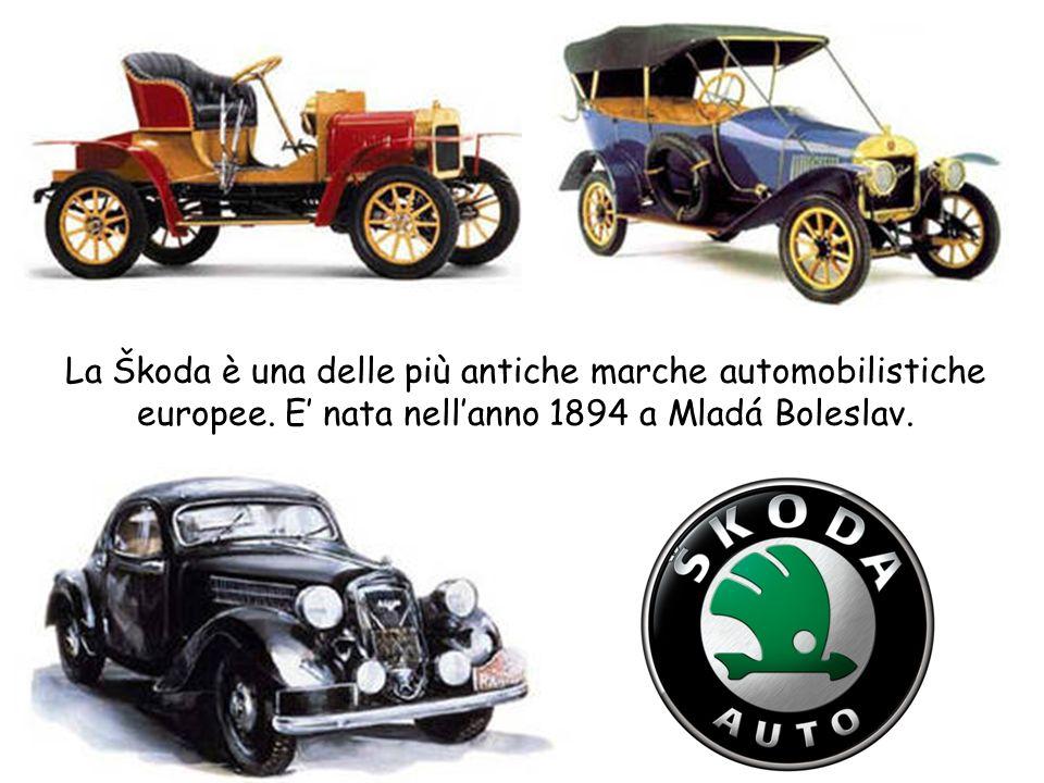 La Škoda è una delle più antiche marche automobilistiche europee