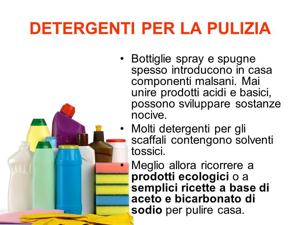 L inquinamento indoor ppt scaricare - Prodotti ecologici per la pulizia della casa ...