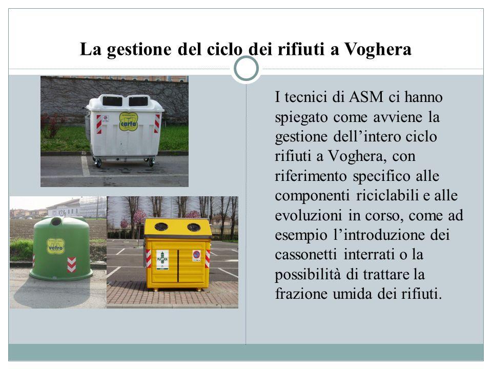 La gestione del ciclo dei rifiuti a Voghera