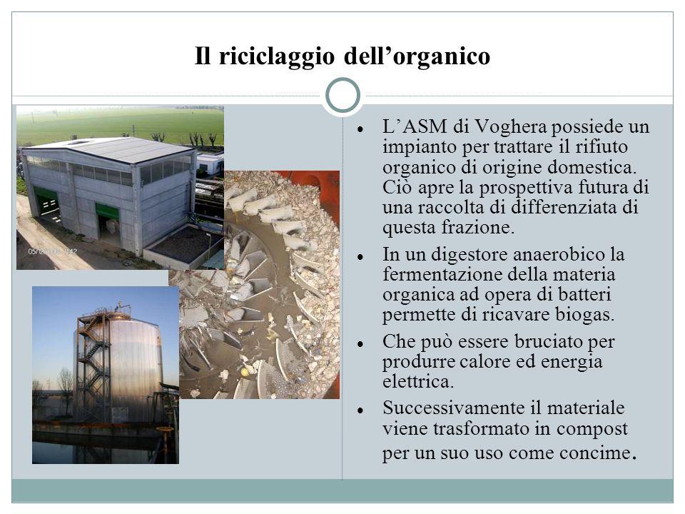 Il riciclaggio dell'organico