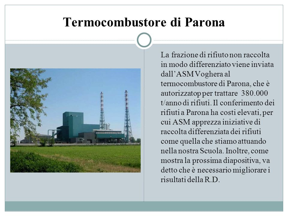 Termocombustore di Parona