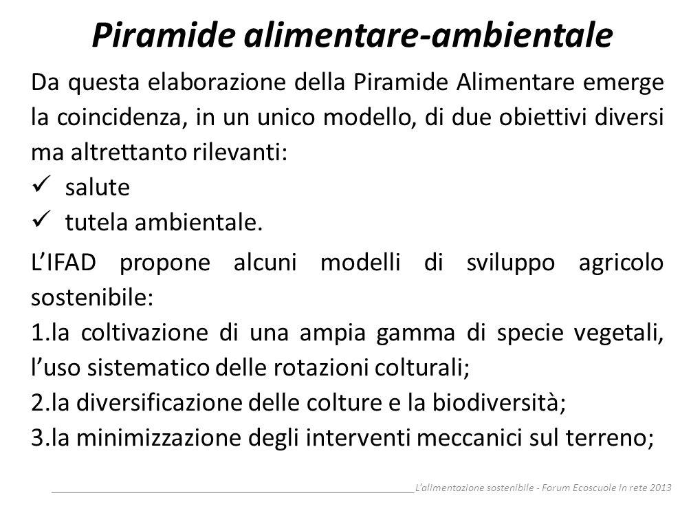 Piramide alimentare-ambientale