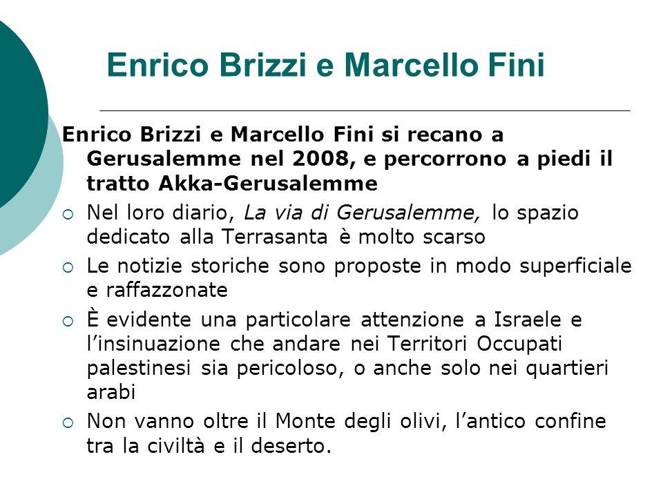 Enrico Brizzi e Marcello Fini