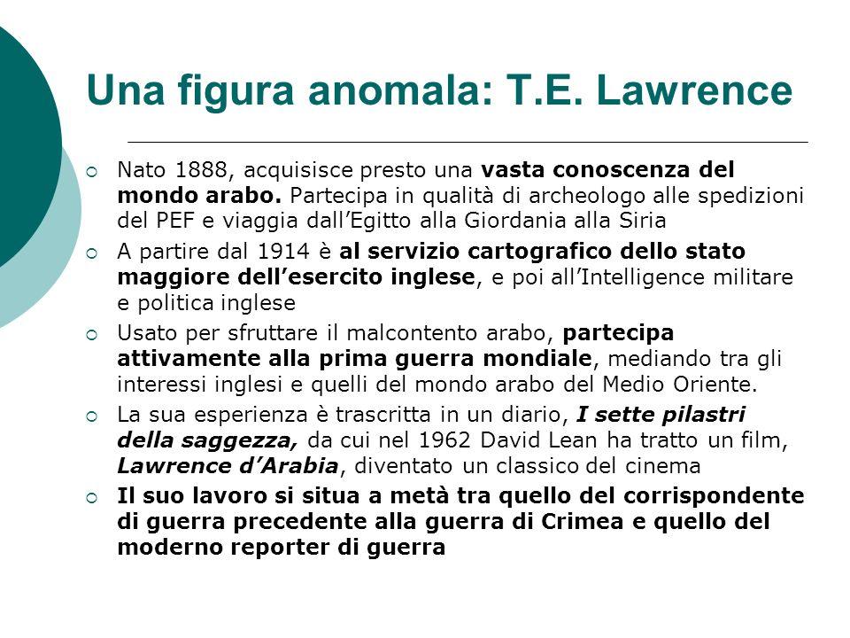 Una figura anomala: T.E. Lawrence