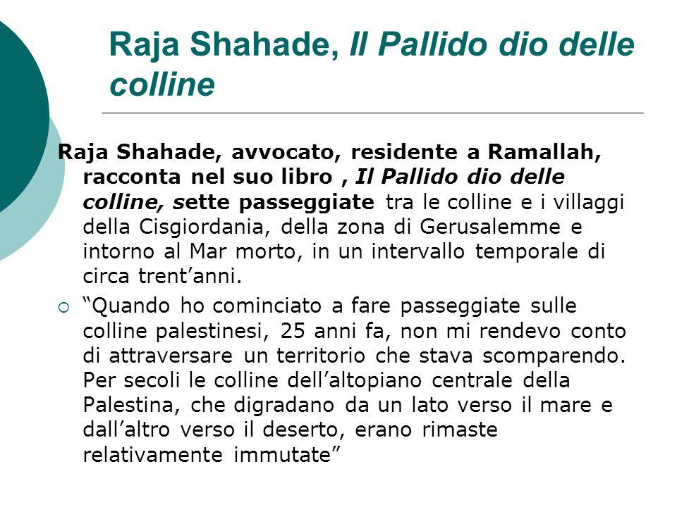 Raja Shahade, Il Pallido dio delle colline