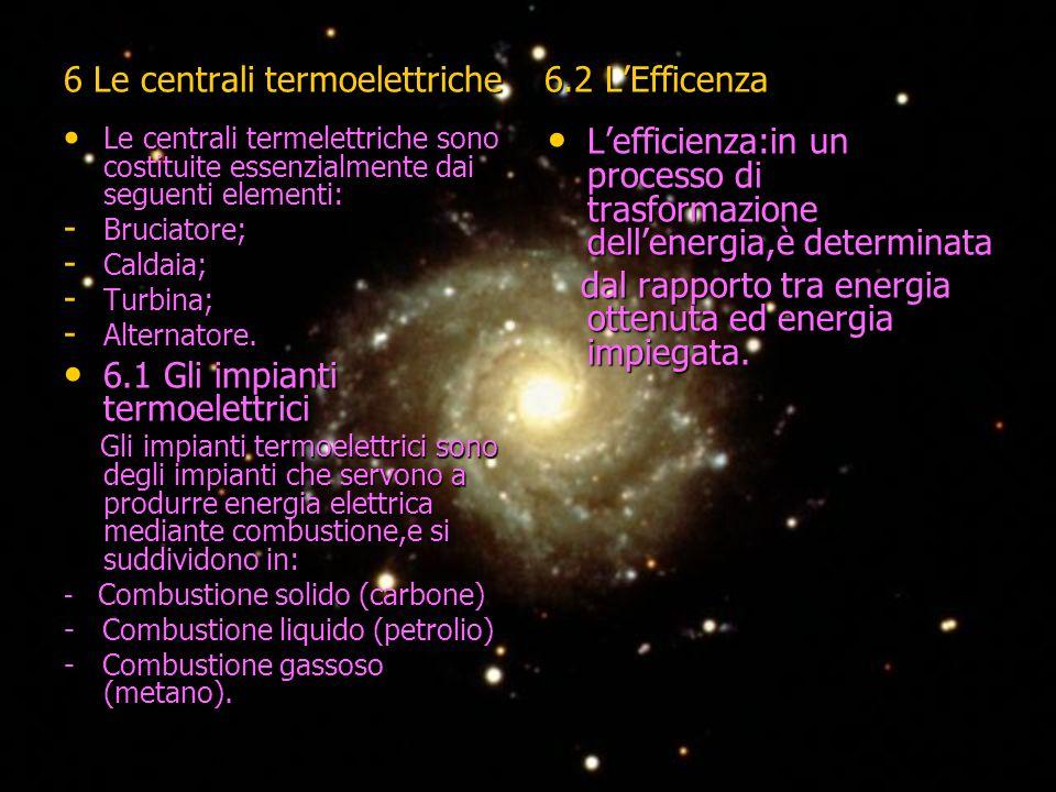 6 Le centrali termoelettriche 6.2 L'Efficenza