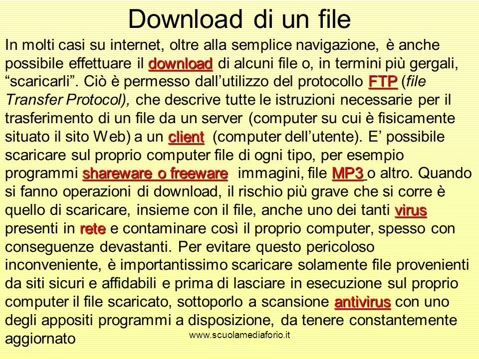 Download di un file