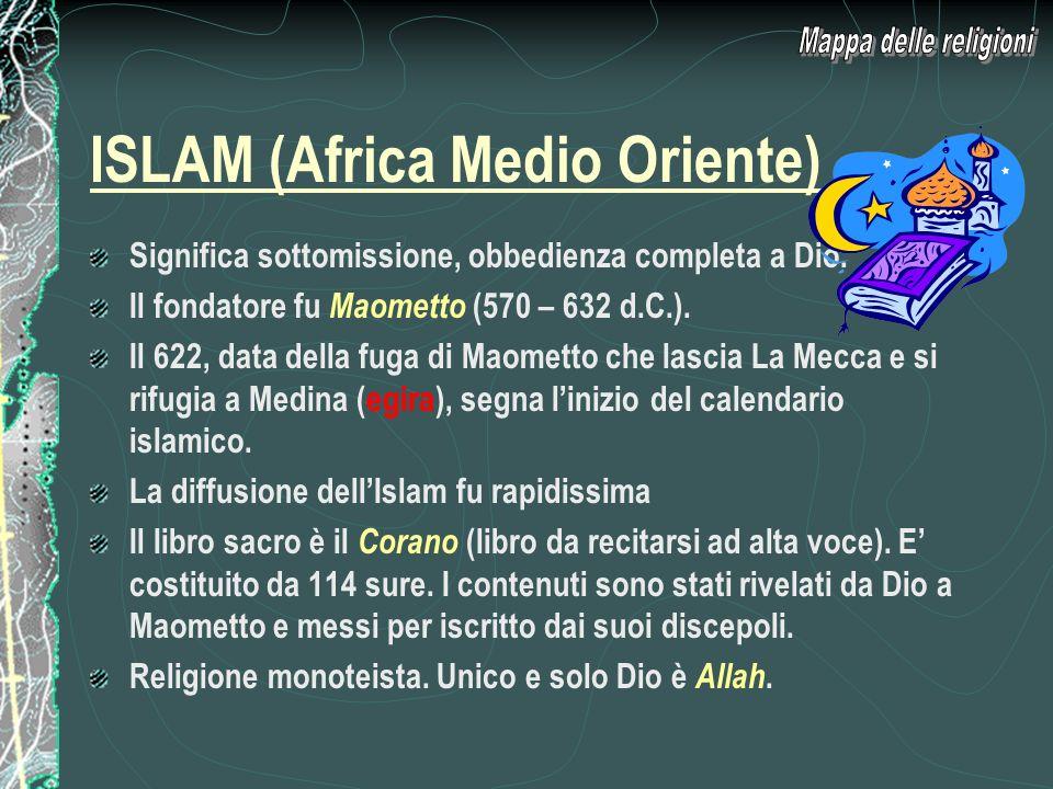 ISLAM (Africa Medio Oriente)
