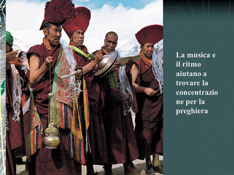 La musica e il ritmo aiutano a trovare la concentrazione per la preghiera