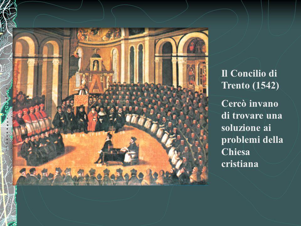 Il Concilio di Trento (1542)