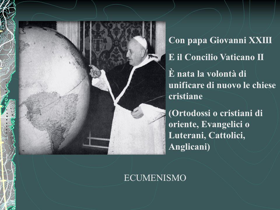 Con papa Giovanni XXIII