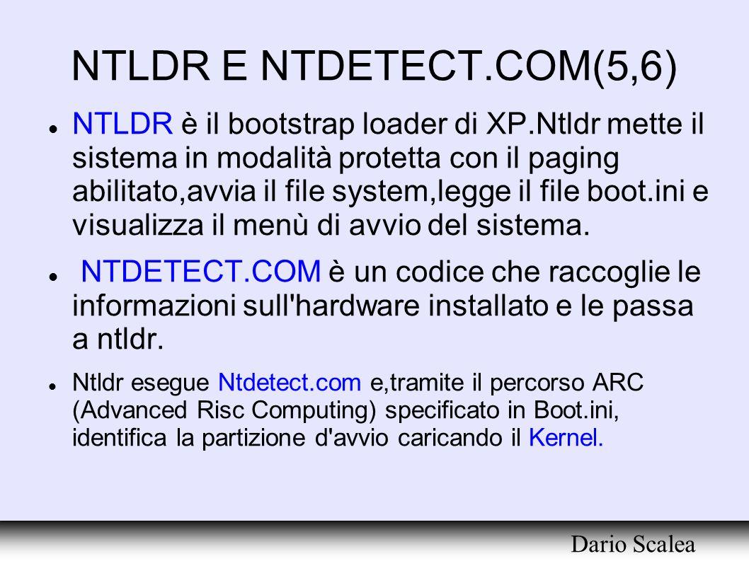 NTLDR E NTDETECT.COM(5,6)